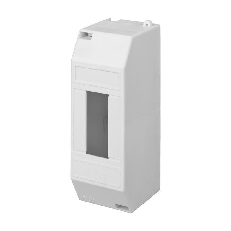 Бокс пластиковый КМПн 1/2 IP20 белый инд. штрих-код REXANT