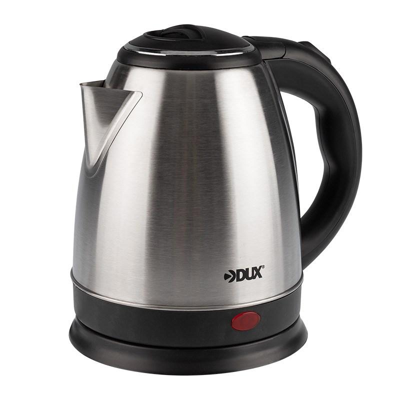 Чайник электрический, нержавеющая сталь 1,5 литра, 1850 Вт/220В  (DX3015)  DUX