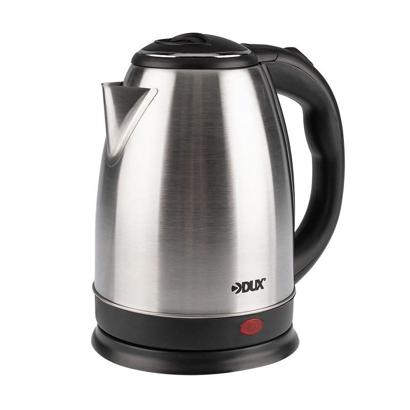 Чайник электрический, нержавеющая сталь 1,8 литра, 1850 Вт/220В  (DX3018)  DUX