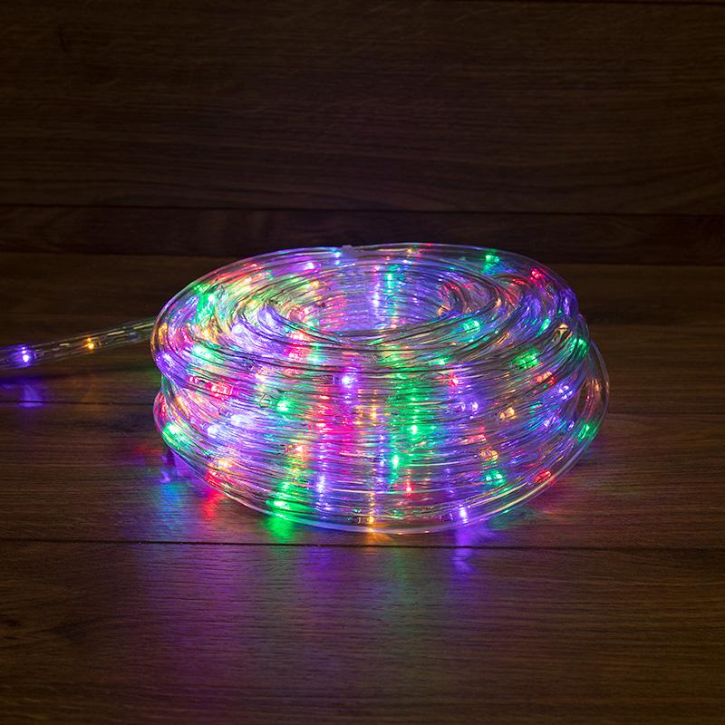 Дюралайт LED, свечение с динамикой (3W), 24 LED/м, МУЛЬТИ (RYGB), 14м