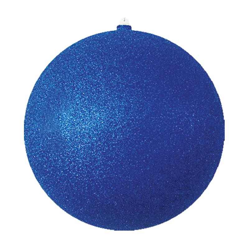 """Елочная фигура """"Шарик"""", 20 см, цвет синий"""