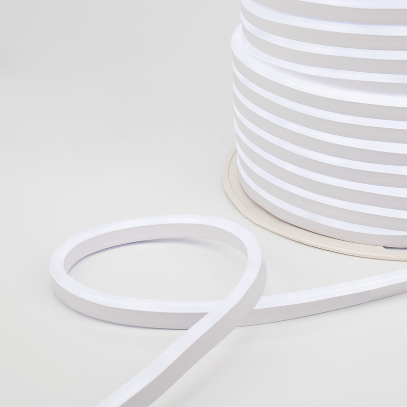 Гибкий неон NEON-NIGHT LED SMD 8х16 мм, односторонний белый, 120 LED/м, 20 м