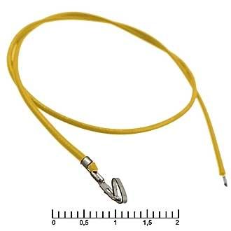 HU 2,54 mm AWG26 0,3m yellow