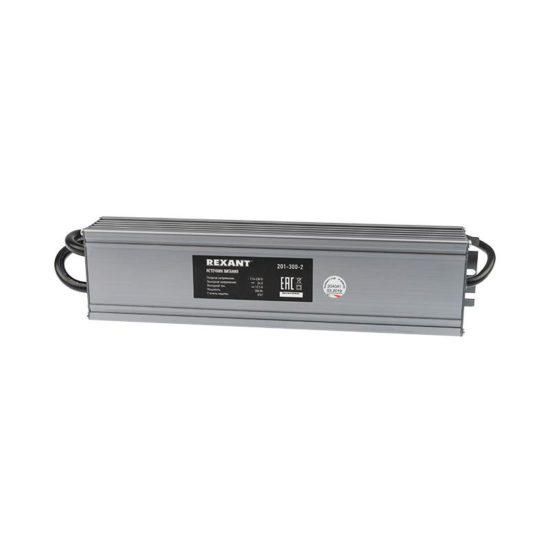 Источник питания 24 V, 300 W с проводами, влагозащищенный (IP67)