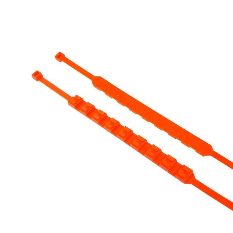 Хомут противоскольжения 900x9 мм оранжевый REXANT