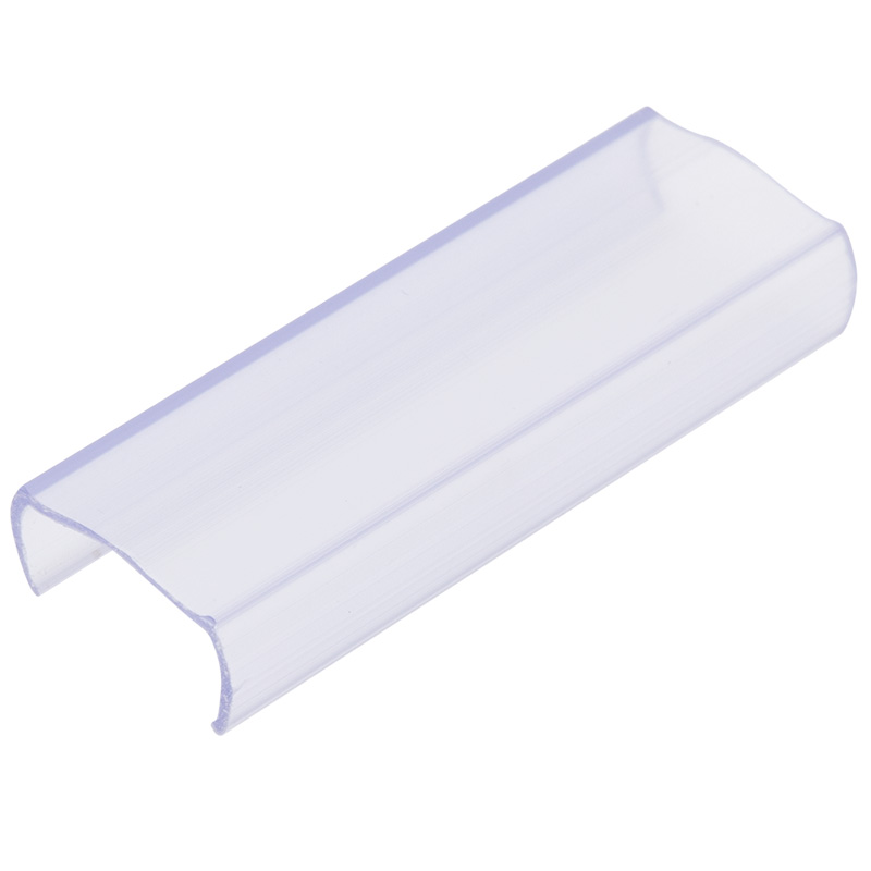 Клипса пластиковая для гибкого неона формы D 16х16 мм (цена за 1 шт.)