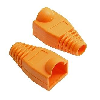 Колпачок для RJ45 оранжевый