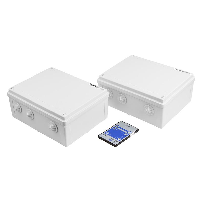Контроллер iMLamp16D_AC для Белт-Лайта, светодиодные лампы 220 В, 5600 Вт 16 кан. х 1,6 А, 28 прогр., ДУ, IP54