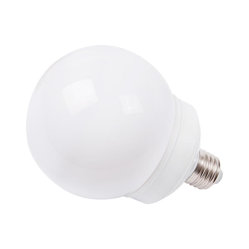 Лампа шар e27 12 LED  Ø100мм белая