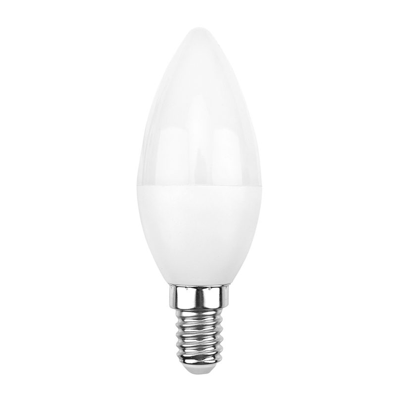 Лампа светодиодная Свеча (CN) 7,5 Вт E14 713 лм 4000 K нейтральный свет REXANT