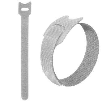 липучка 150х12 мм, белый (100шт)