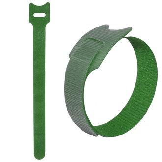липучка 150х12 мм, зеленый (100шт)