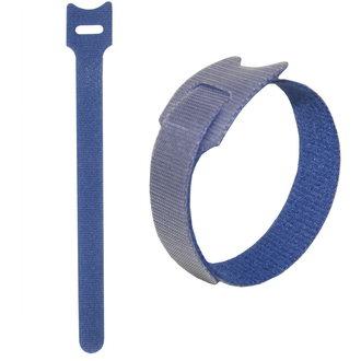 липучка 210х16 мм, синий (50шт)