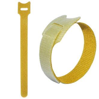 липучка 210х16 мм, желтый (50шт)