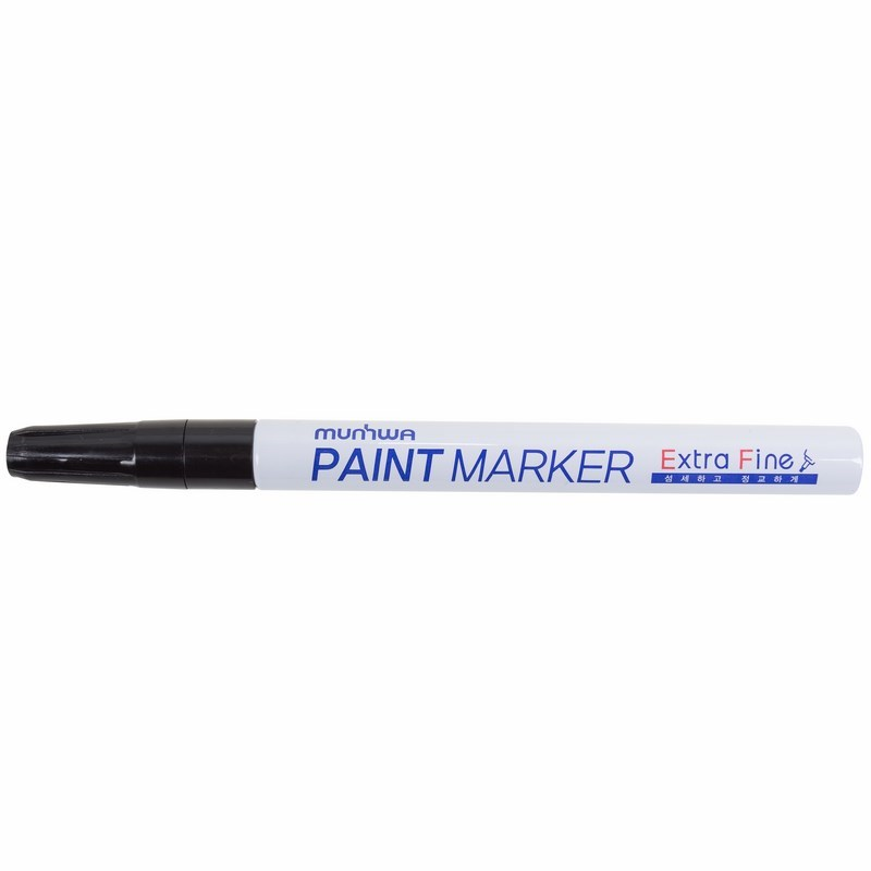 Маркер-краска MunHwa «Extra Fine Paint Marker» 1 мм, черная, нитрооснова