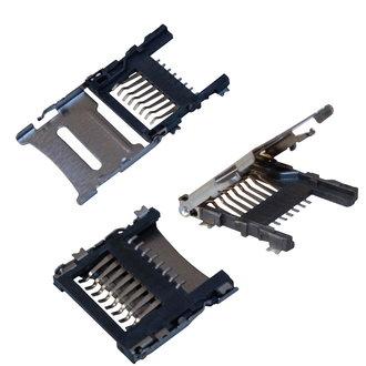 microSD SMD 8pin 1.8H