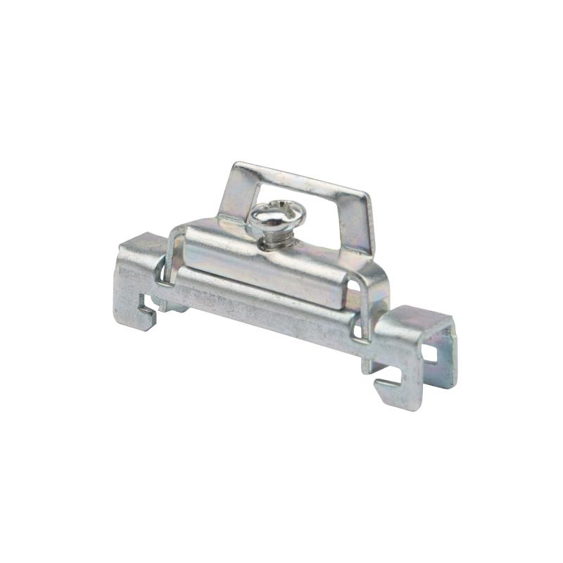 Ограничитель на DIN-рейку (металл) 1 винт REXANT (пакет 10 шт./уп.)