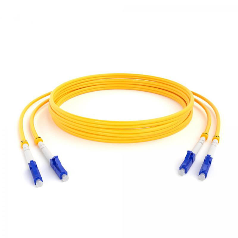 Патч-корд оптический (SM), 9/125 (OS2), LC/UPC-LC/UPC, 3 мм  (Duplex), LSZH, 2 м