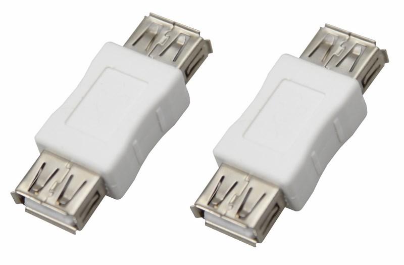 Переходник гнездо USB-А (Female)-гнездо USB-А (Female) REXANT