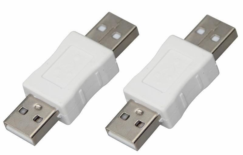 Переходник штекер USB-A (Male)-штекер USB-A (Male) REXANT