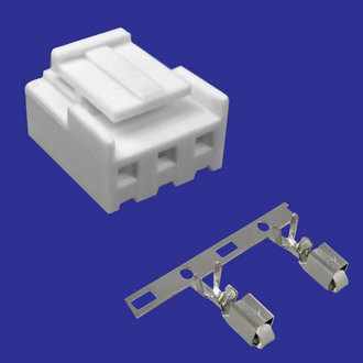PHU2-03 pitch 3.96 mm + terminal