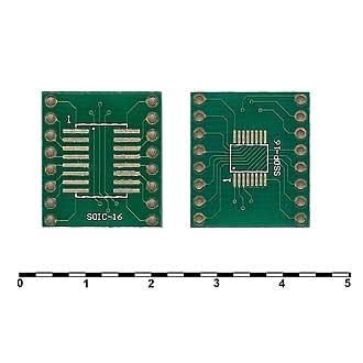 Плата SOIC-16 и SSOP-16