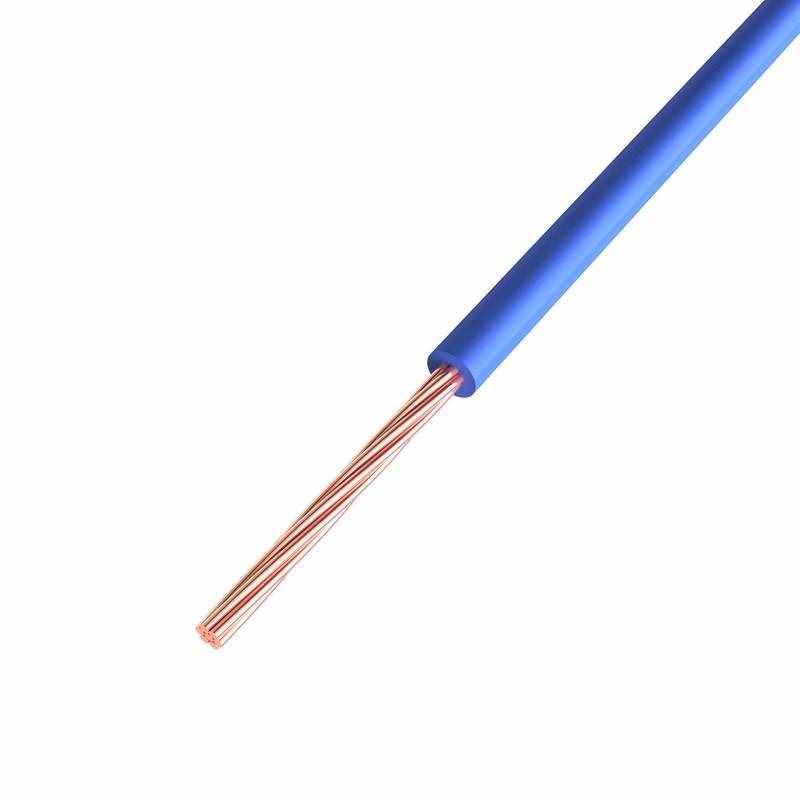 Провод ПГВА REXANT 1х0.75 мм², Cu, синий, бухта 200 м