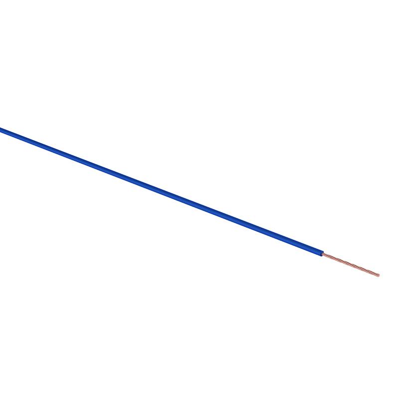 Провод ПГВА REXANT 1х0.75 мм², синий, бухта 100 м