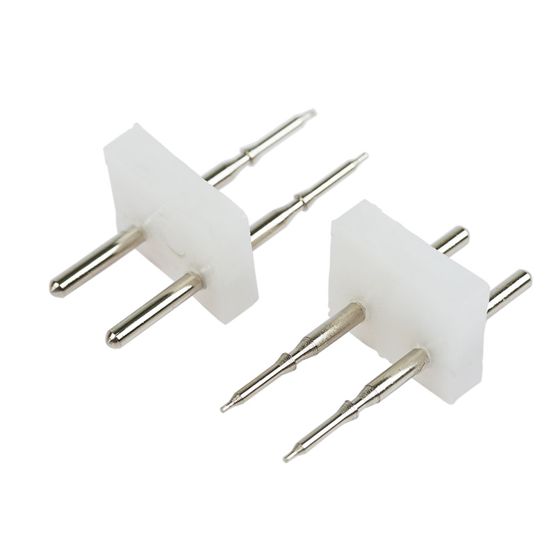 Разъем-иглы для соединения гибкого неона 7х12 на шнур/коннектор (цена за 1 шт.)