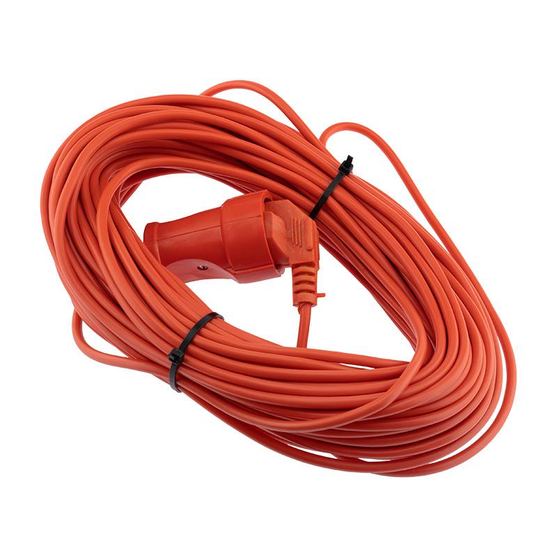 Шнур-удлинитель 30 метров оранжевый ПВС 2х0.75 мм² (6 А/1300 Вт) PROconnect
