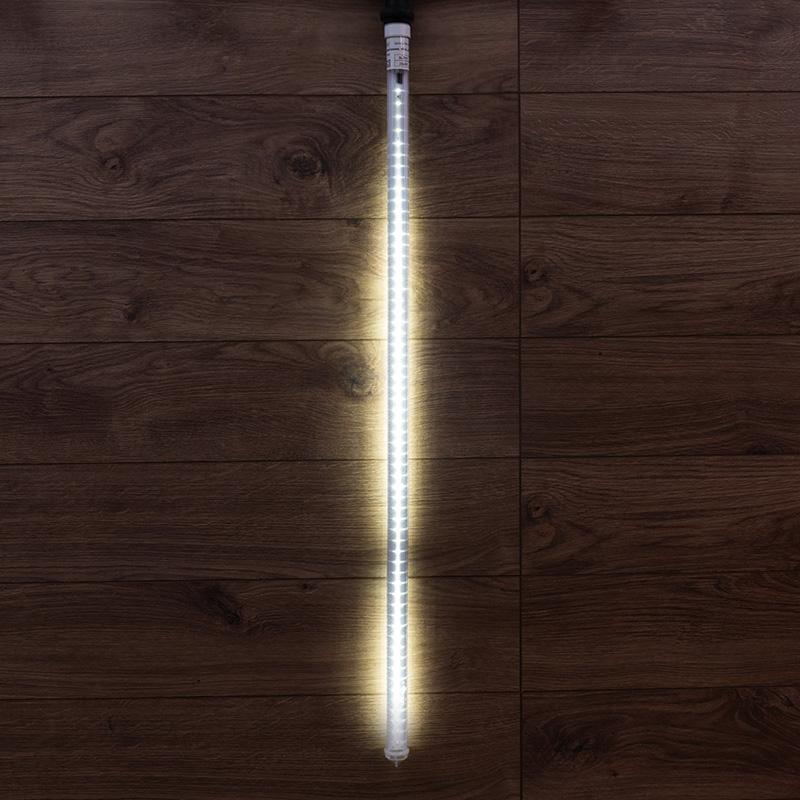Сосулька светодидная 100 см, 230 В, e27, двухсторонняя, 60х2 диодов, цвет диодов белый