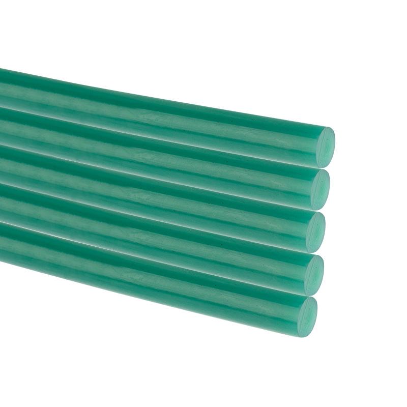 Стержни клеевые REXANT Ø 11 мм, 270 мм, зеленые (10 шт./уп.) (хедер)