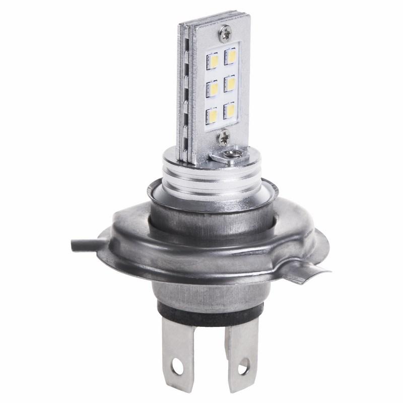 Светодиодная лампочка H4, 12 Вт (12 светодиодов)