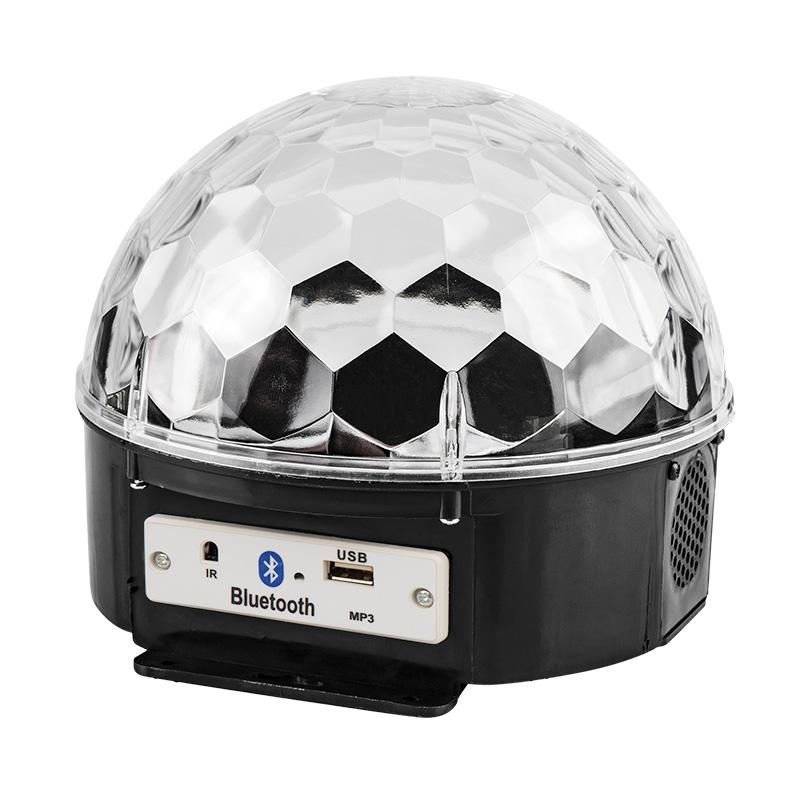 """Светодиодная система """"Диско-шар"""" с пультом ДУ и Bluetooth, 230 В"""