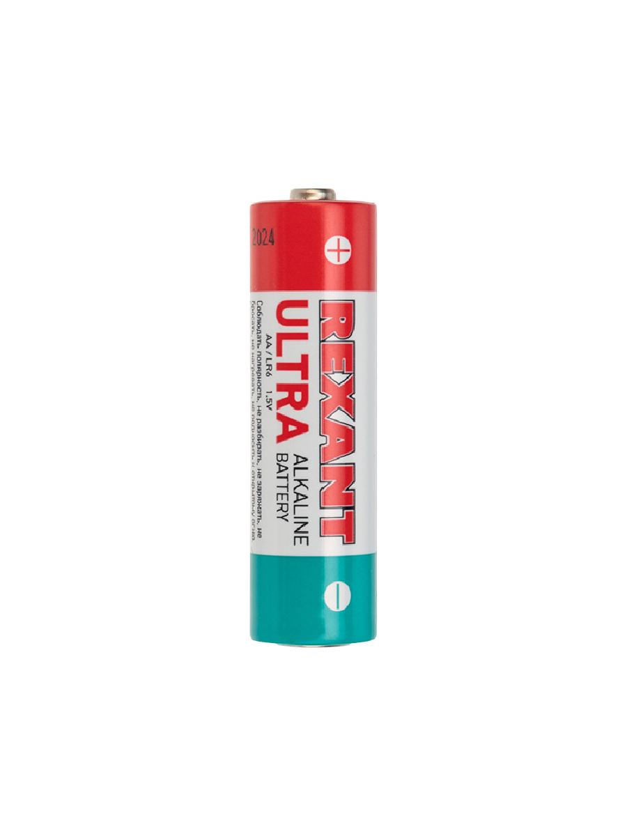 Ультра алкалиновая батарейка AA/LR6 1,5 V 2 шт. блистер REXANT