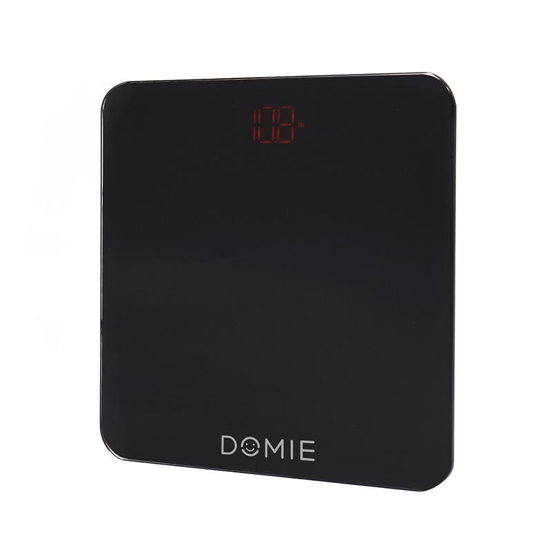 Весы электронные DOMIE с функцией Bluetooth подключения, до 180 кг, с цифровым дисплеем