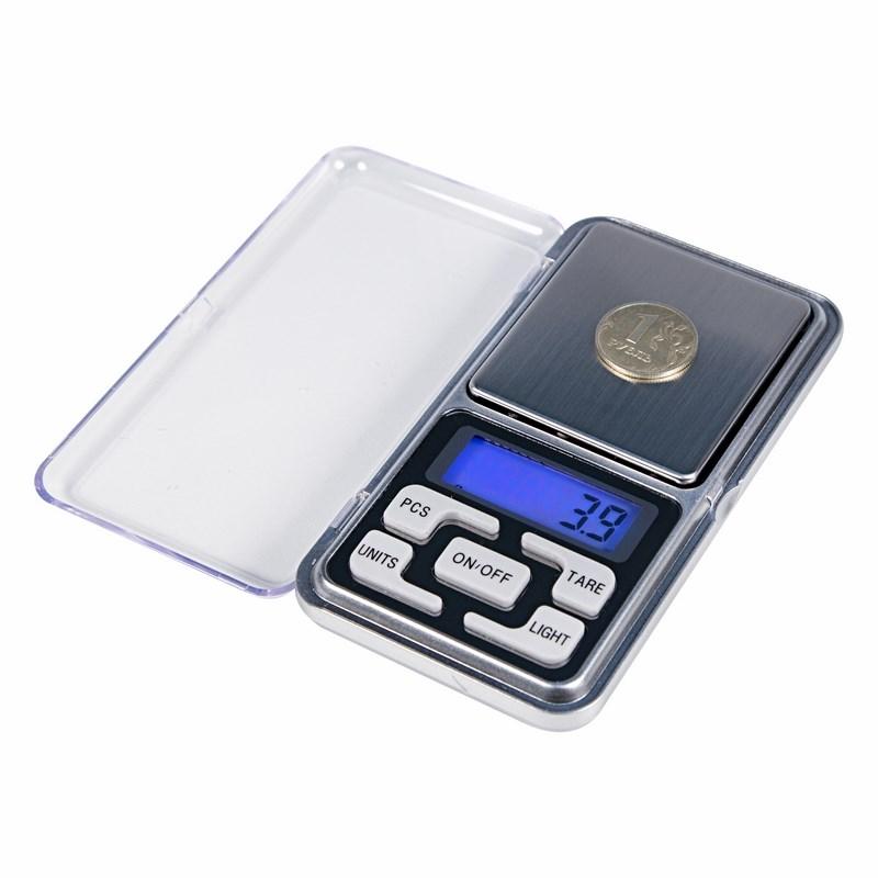 Весы карманные электронные от 0,01 до 200 грамм  REXANT
