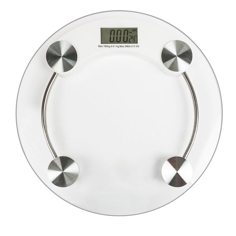 Весы напольные электронные до 180 кг, стекло  REXANT