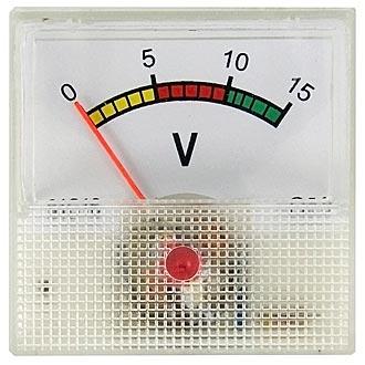 Вольтметр   15В   (40х40)