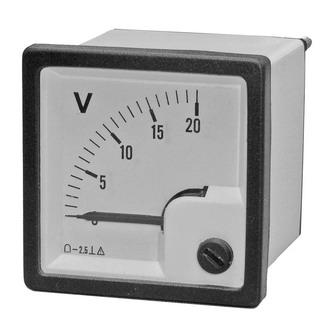 Вольтметр   20В   (48х48)