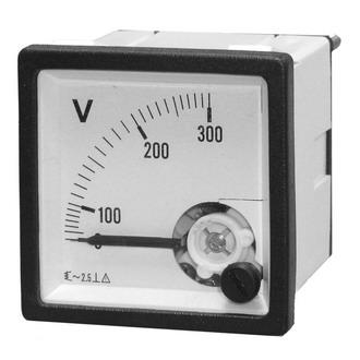 Вольтметр 300В   50гц  (48х48)