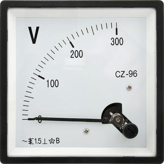 Вольтметр 300В   50гц  (96х96)