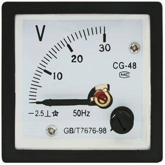 Вольтметр   30В   (48х48)