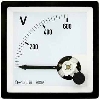 Вольтметр  600В   (72х72)