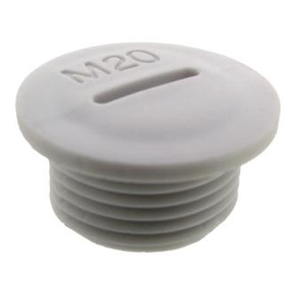 Заглушка MG-20 Серый пластик