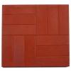 Плитка тротуарная 12 камней 45х500х500 мм красная