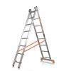 Лестница 2-х секционная Алюмет (2х8 ступеней)