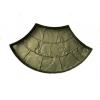Форма для тротуарной плитки Веер 50х390х420 мм
