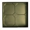 Форма для тротуарной плитки Классика 50х400х400 мм
