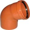 Отвод для наружной канализации 160 мм угол 67°